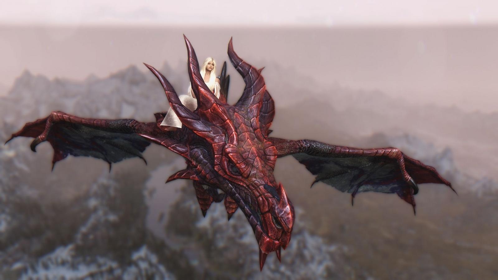 Daenerys y Drogon - 1600x900