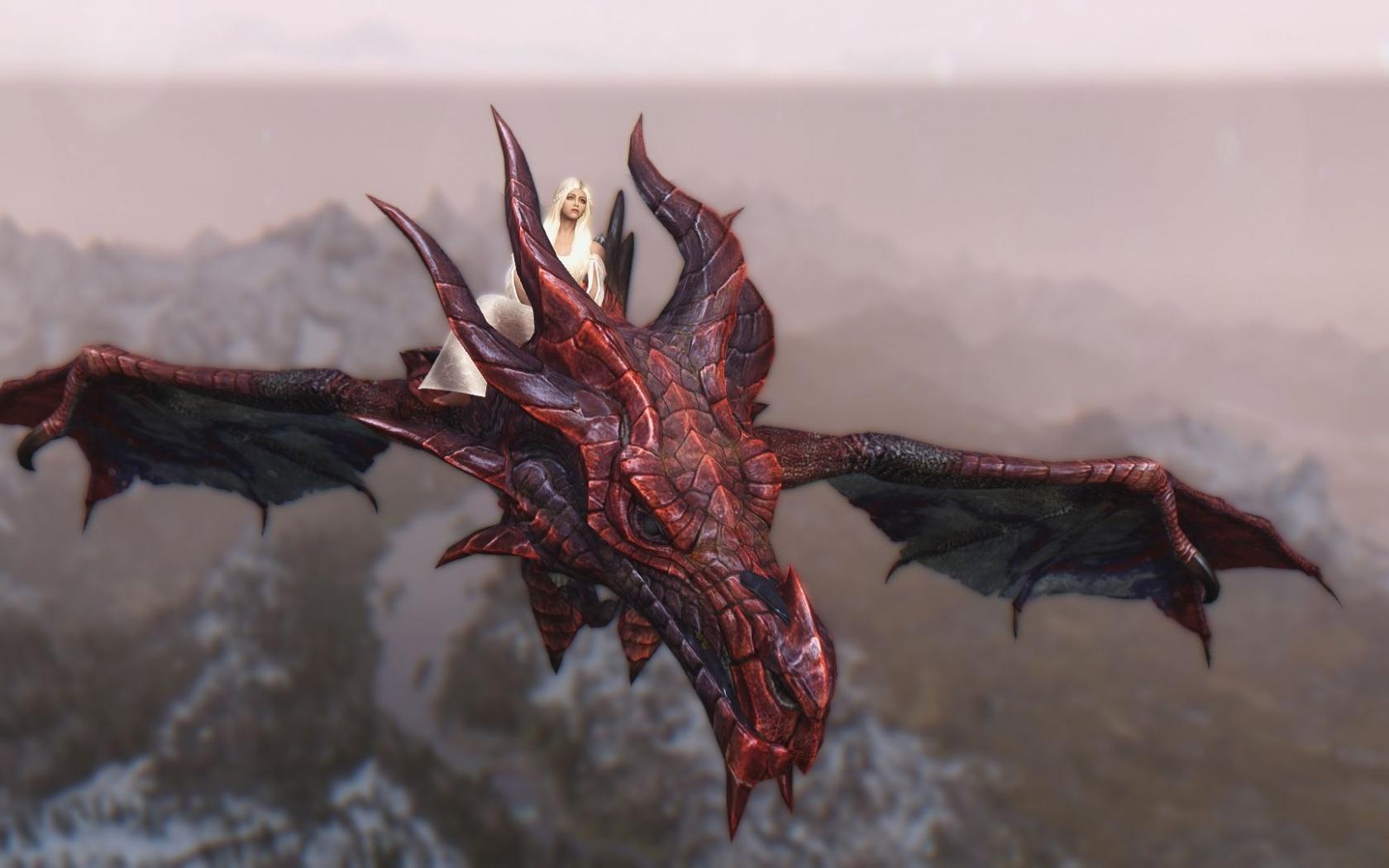 Daenerys y Drogon - 1680x1050