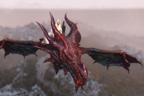 Daenerys y Drogon - 480x320
