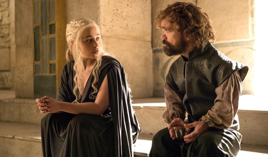 Daenerys y el bastardo - 1024x600