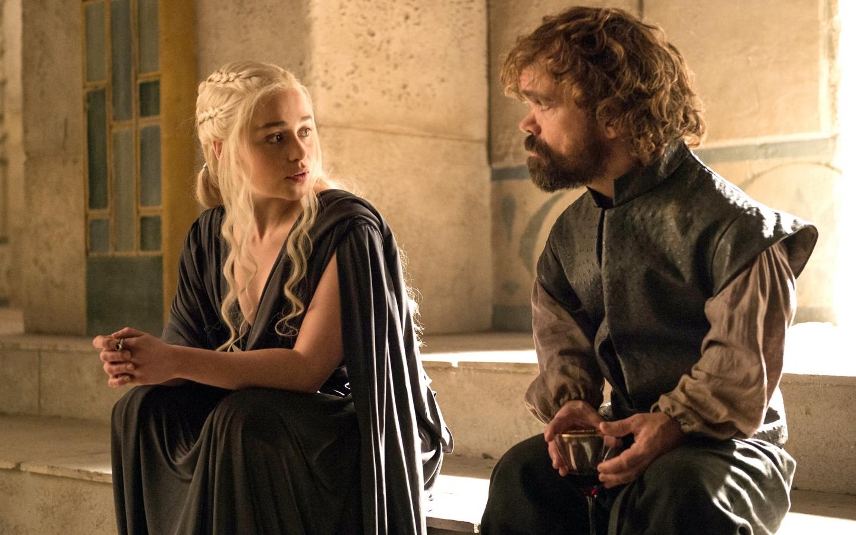 Daenerys y el bastardo - 1440x900