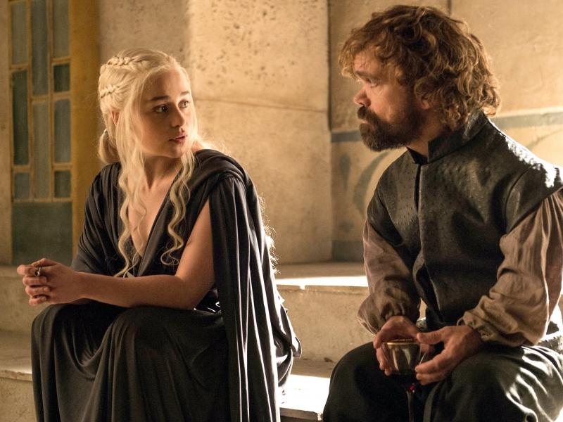 Daenerys y el bastardo - 800x600