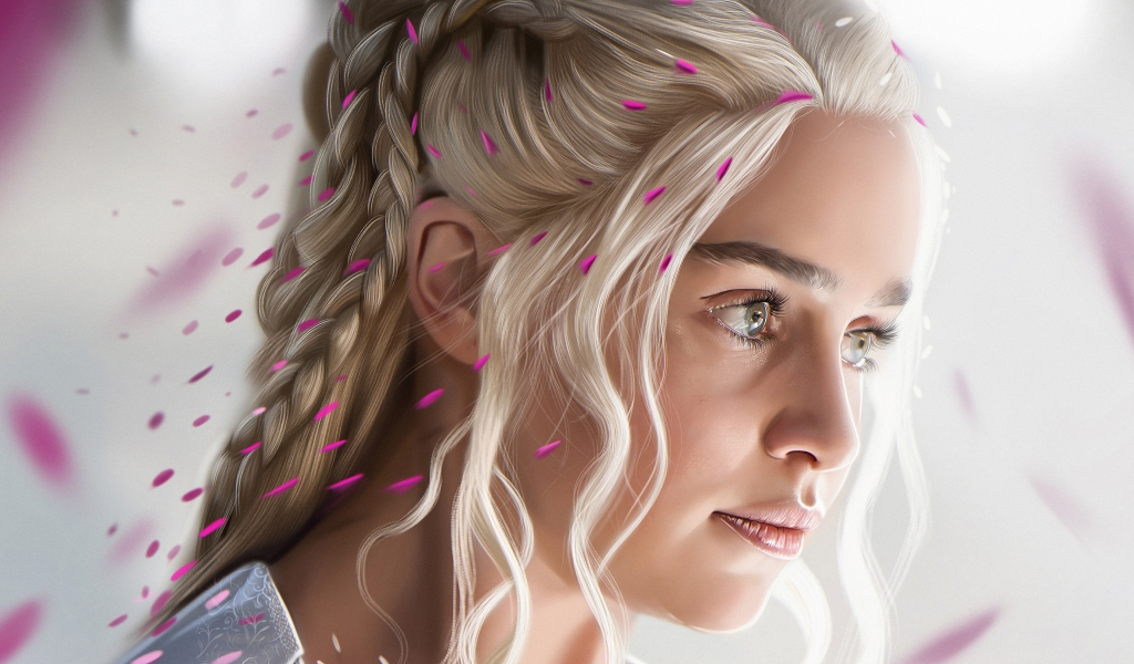El rostro de Daenerys Targaryan - 1024x600