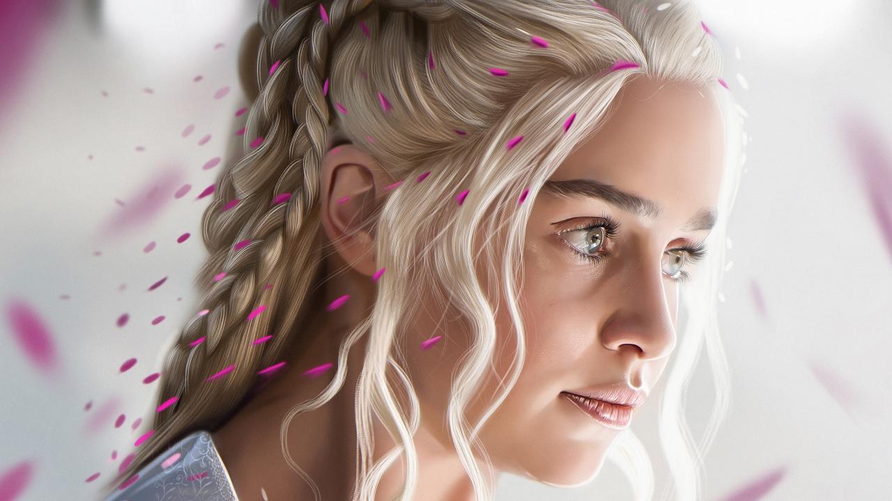 El rostro de Daenerys Targaryan - 1280x720