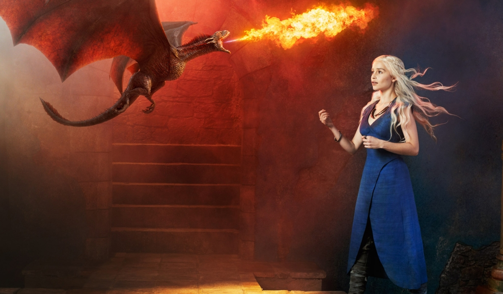 Emilia Clark es Daenerys - 1024x600
