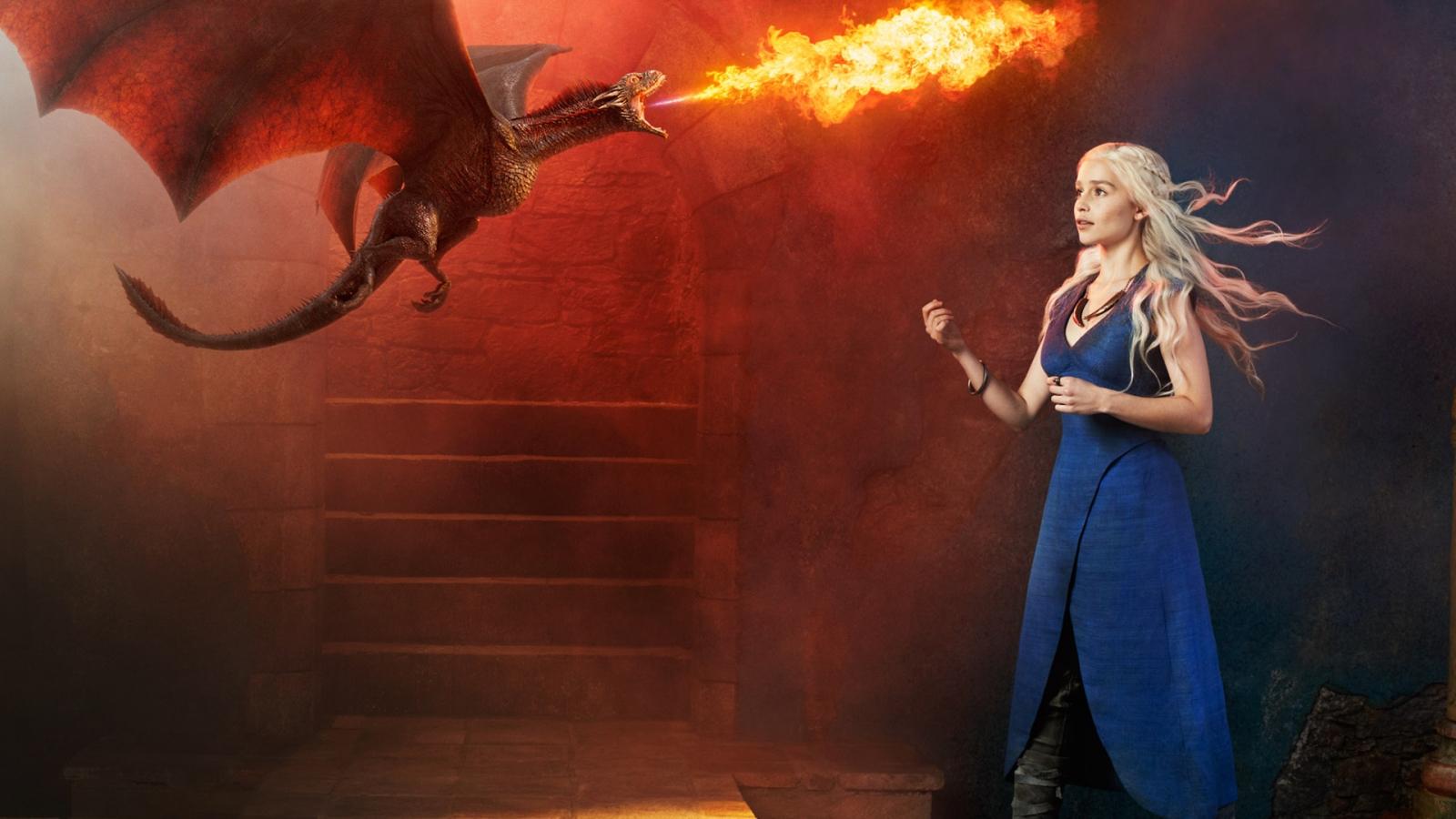 Emilia Clark es Daenerys - 1600x900