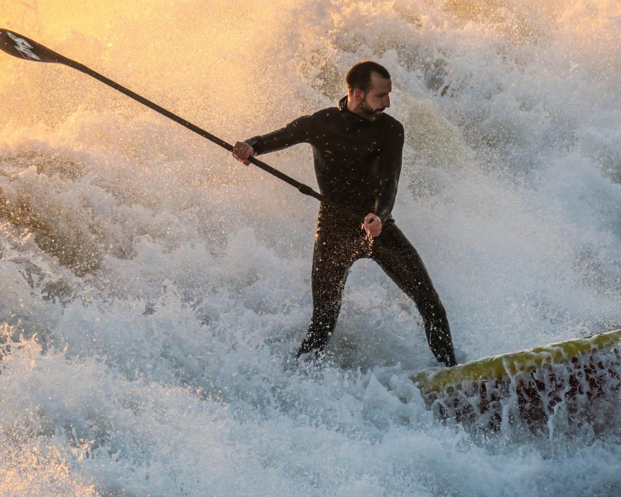 En las olas - 1280x1024