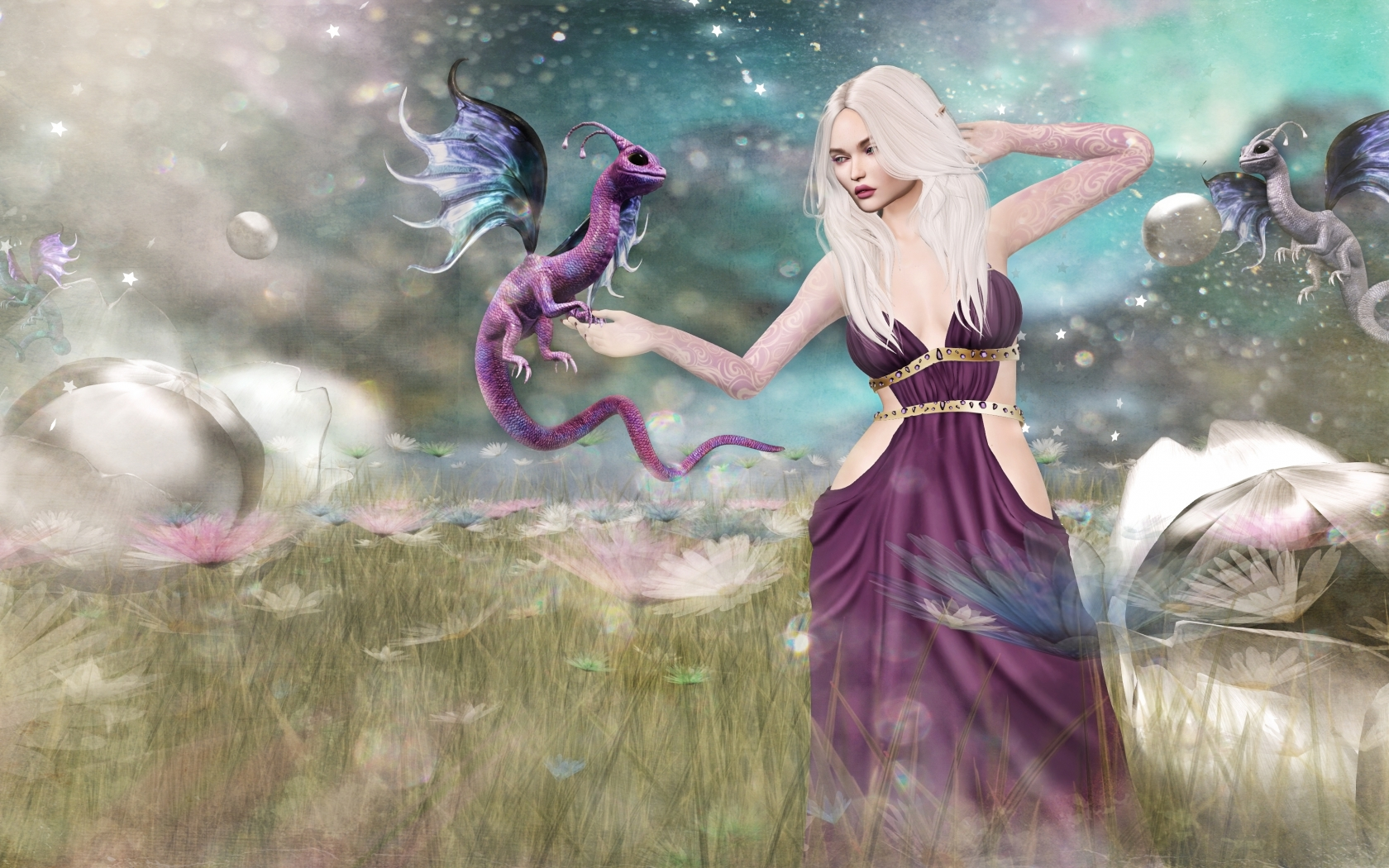 Juego de Tronos Fantasy - 1680x1050