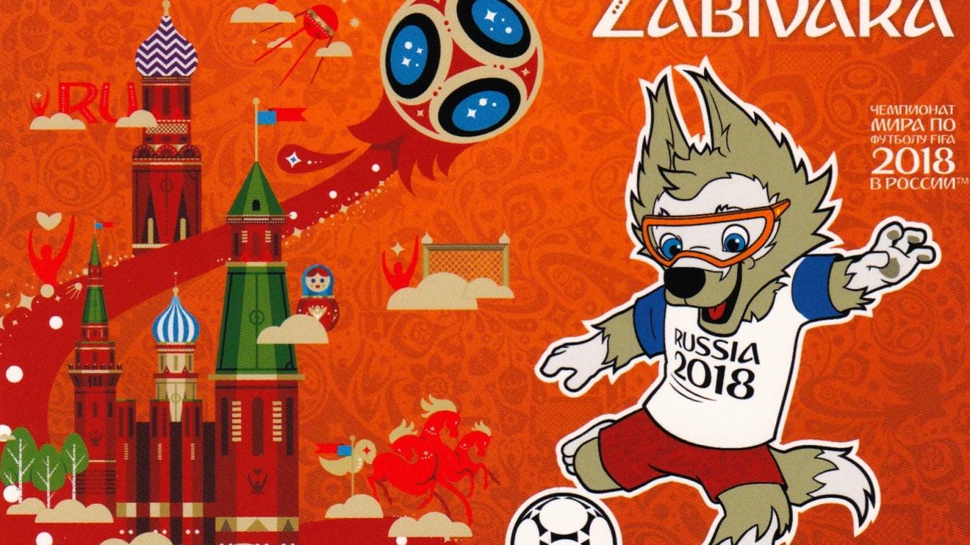 La Mascota del Mundial Rusia 2018 - 1366x768