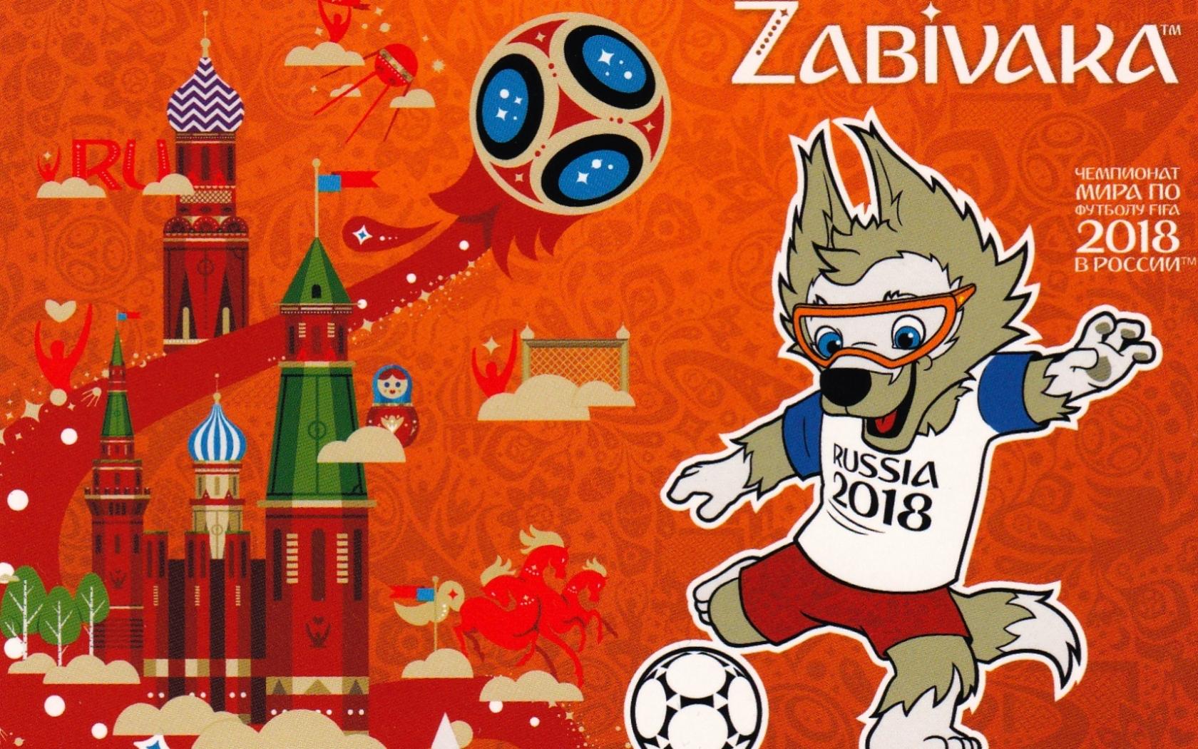 La Mascota del Mundial Rusia 2018 - 1680x1050