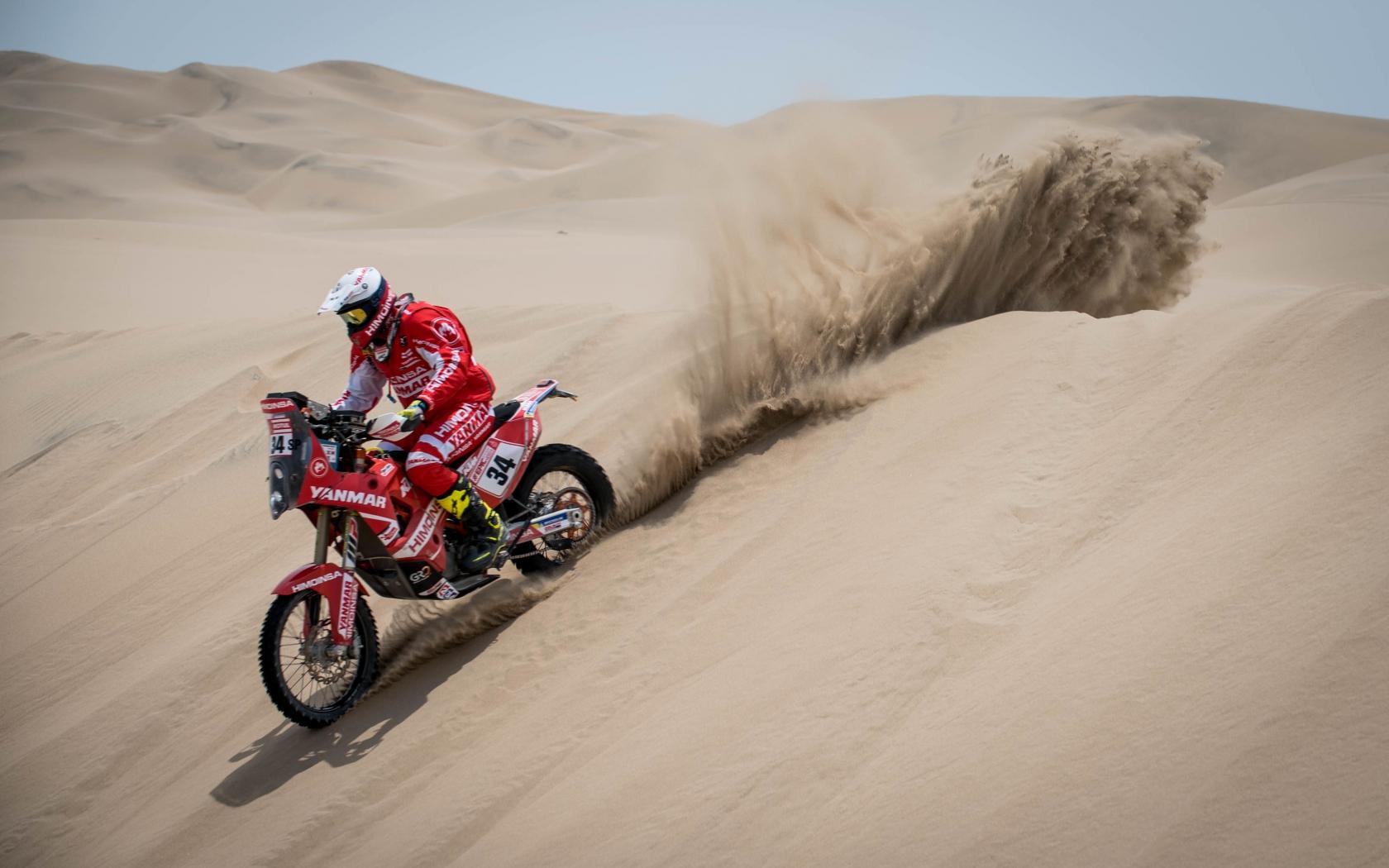Marc Sola - Dakar 2018 - 1680x1050