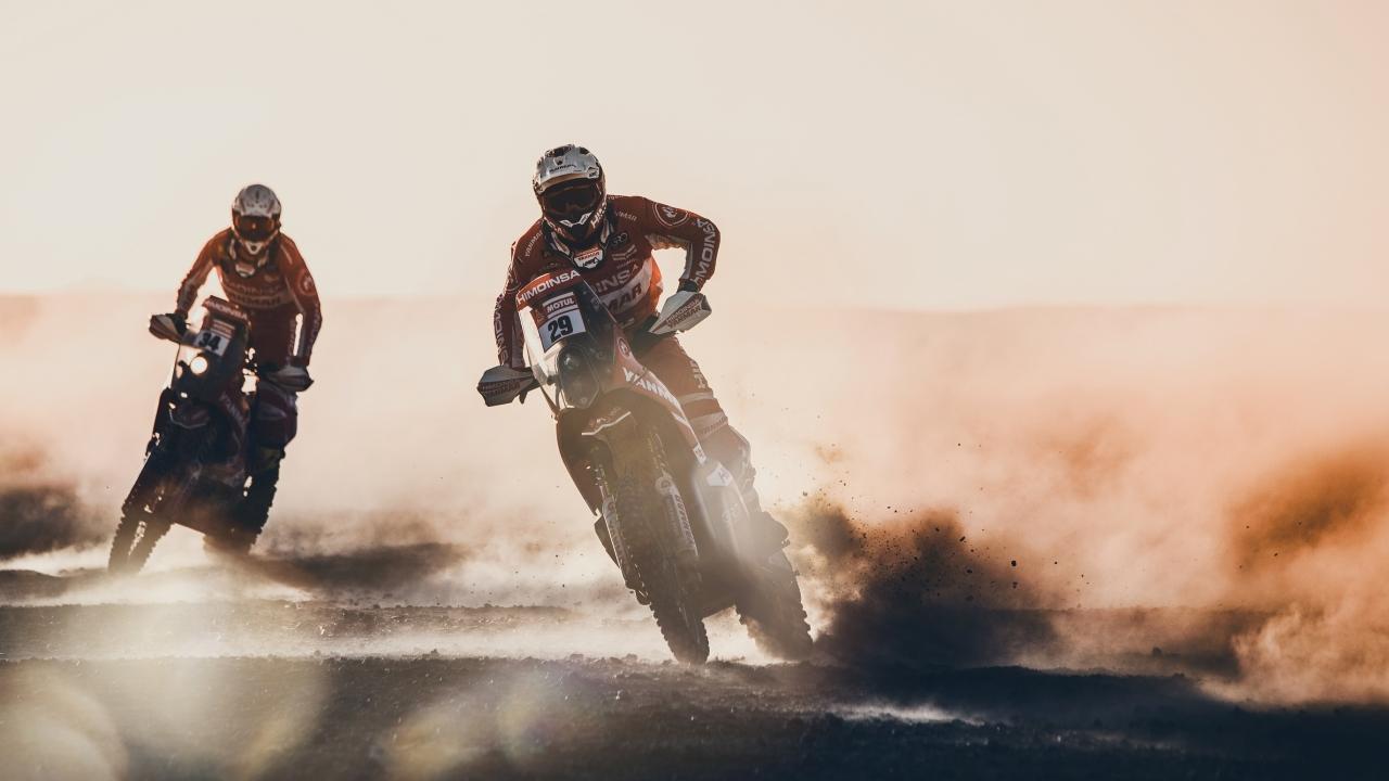 Motos en el Dakar 2018 - 1280x720