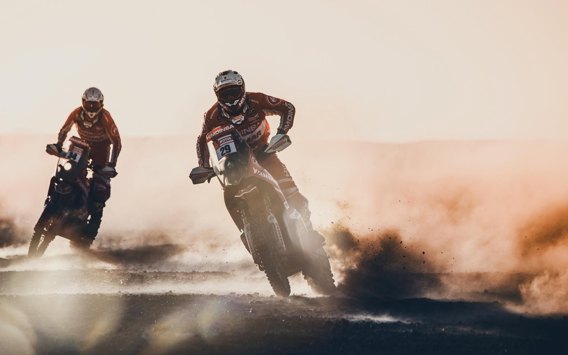 Motos en el Dakar 2018 - 1920x1200