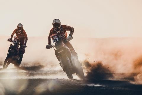 Motos en el Dakar 2018 - 480x320