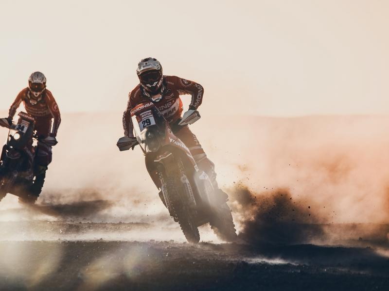 Motos en el Dakar 2018 - 800x600