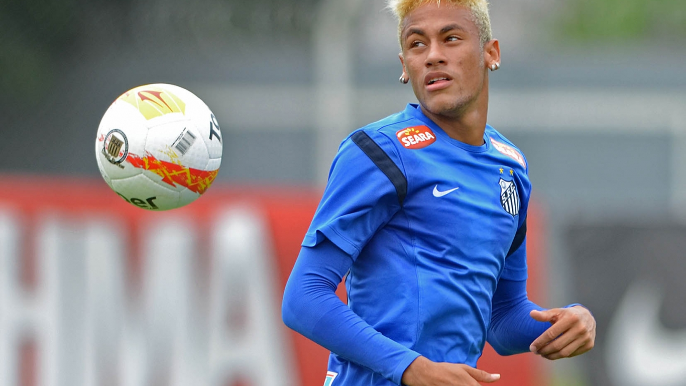 Neymar Santos FC 2018 - 1366x768
