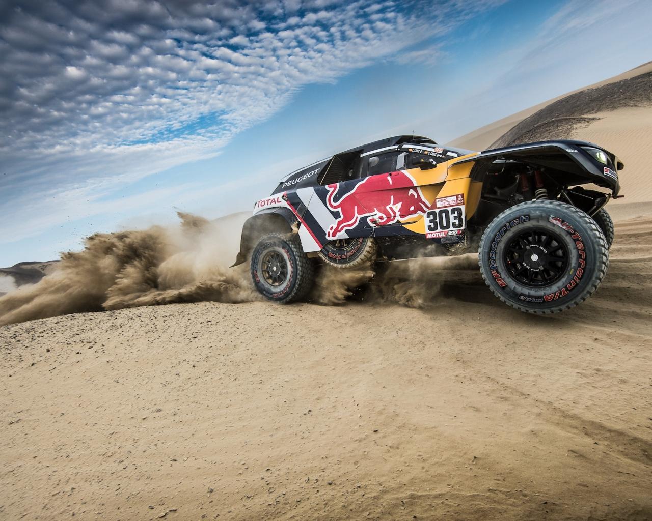 Peugeot en Dakar 2018 - 1280x1024