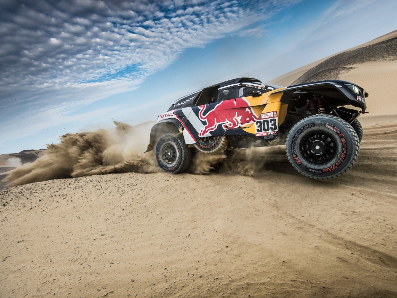 Peugeot en Dakar 2018 - 1280x960