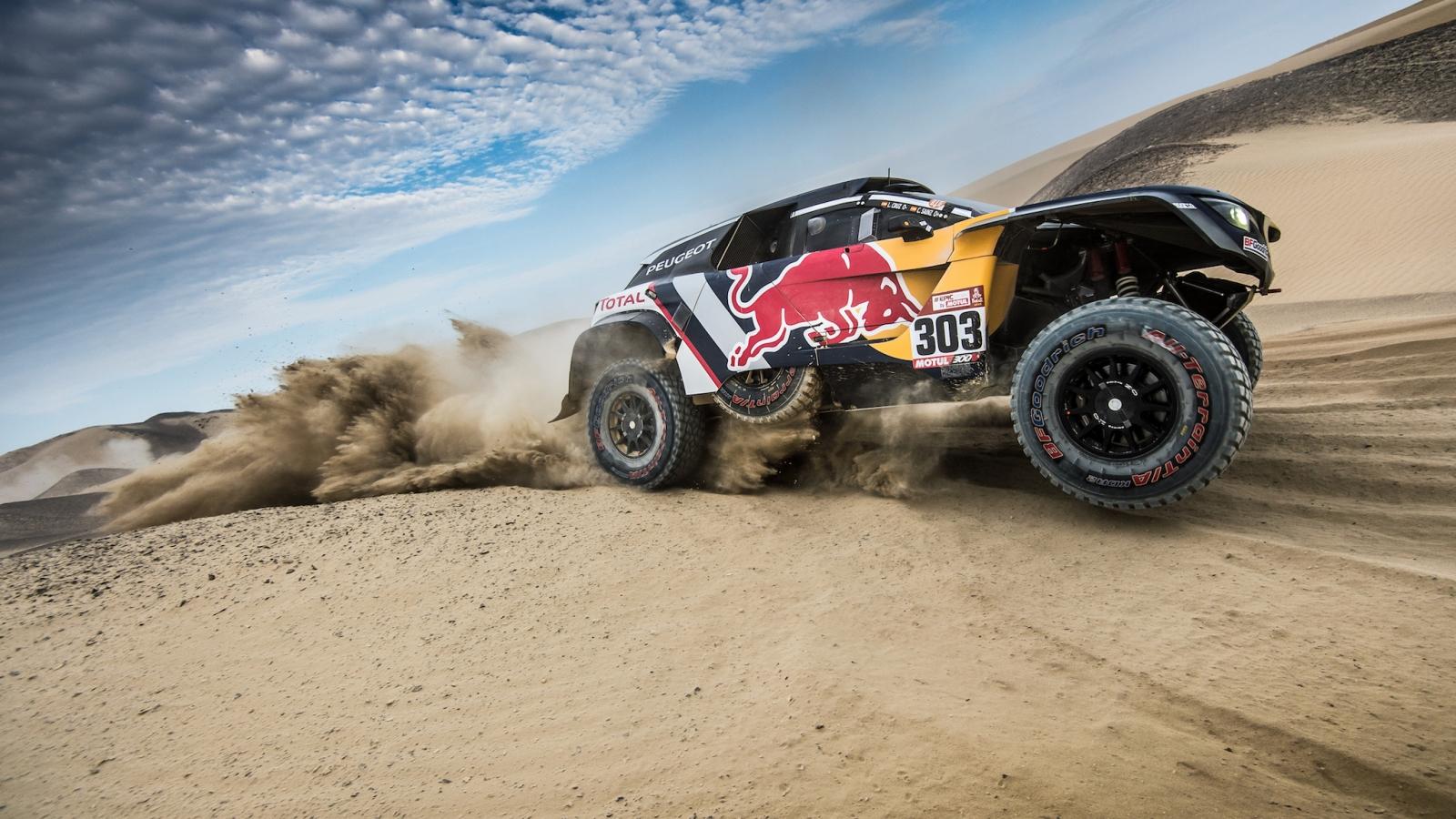 Peugeot en Dakar 2018 - 1600x900