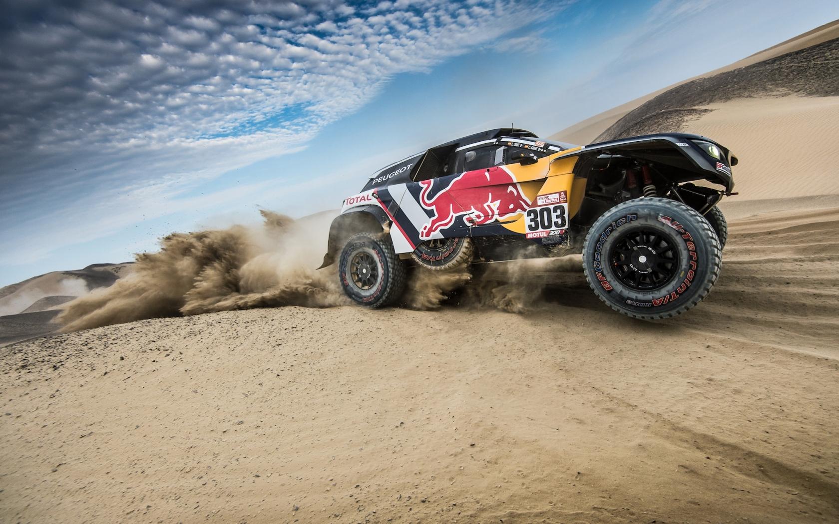 Peugeot en Dakar 2018 - 1680x1050