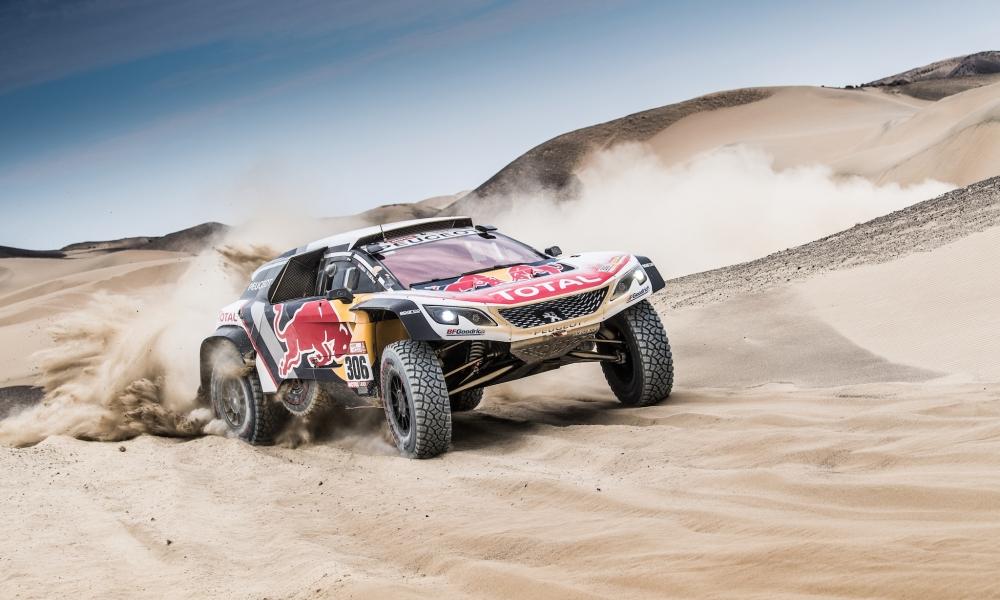 Peugeot team Dakar 2018 - 1000x600