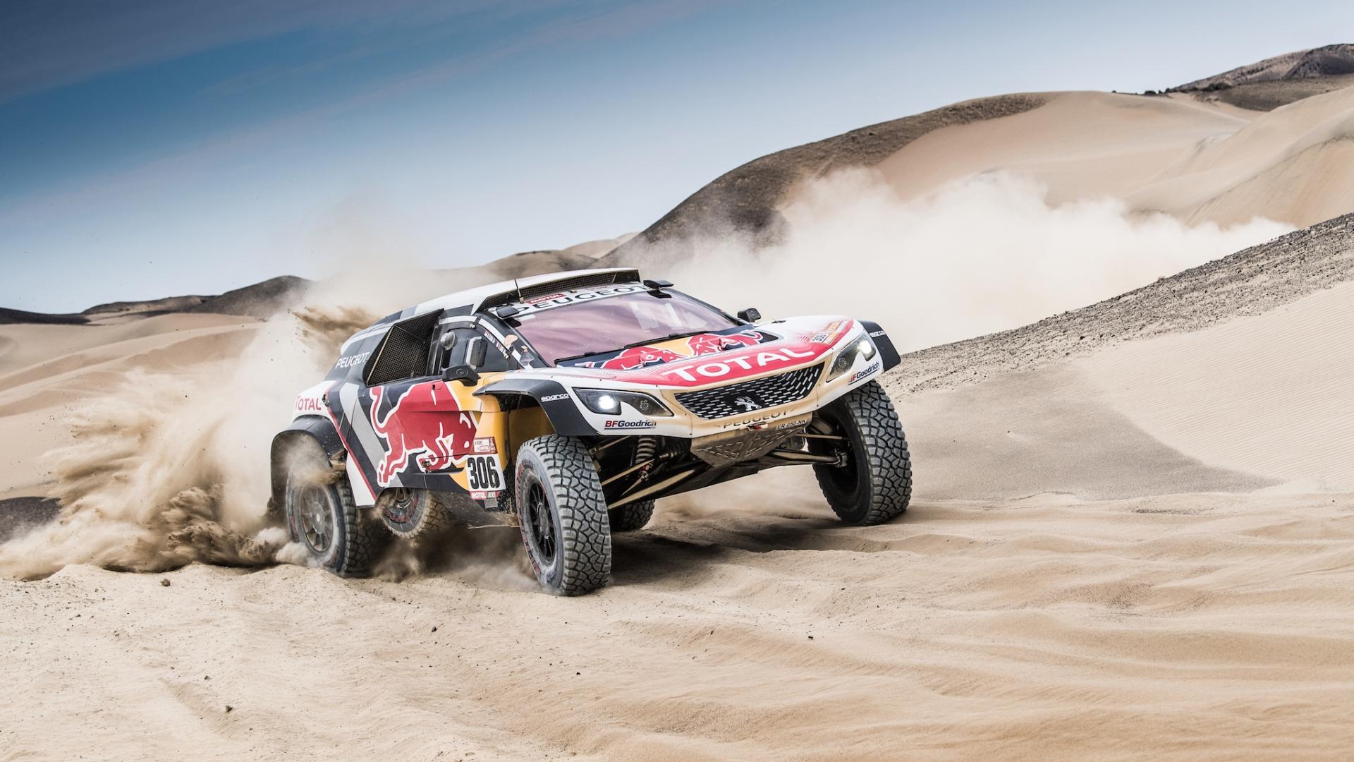 Peugeot team Dakar 2018 - 1920x1080