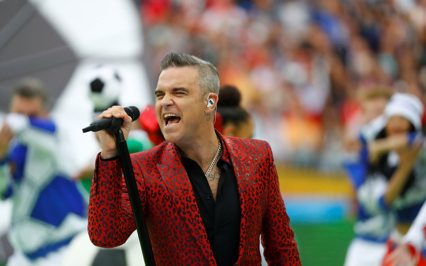 Robbie Williams En Rusia 2018 Hd 1440x900
