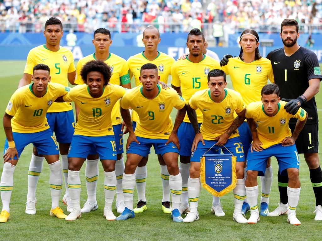 Selección de Brasil 2018 - 1024x768