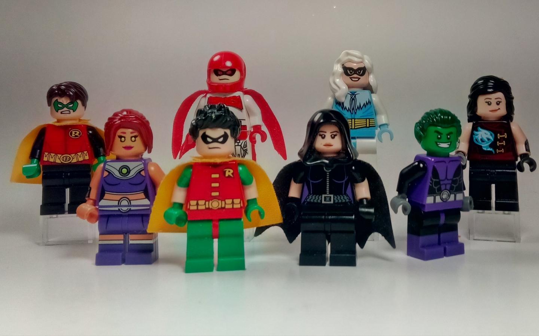 Muñecos de lego de super héroes - 1440x900