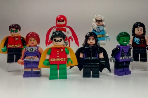 Muñecos de lego de super héroes - 480x320