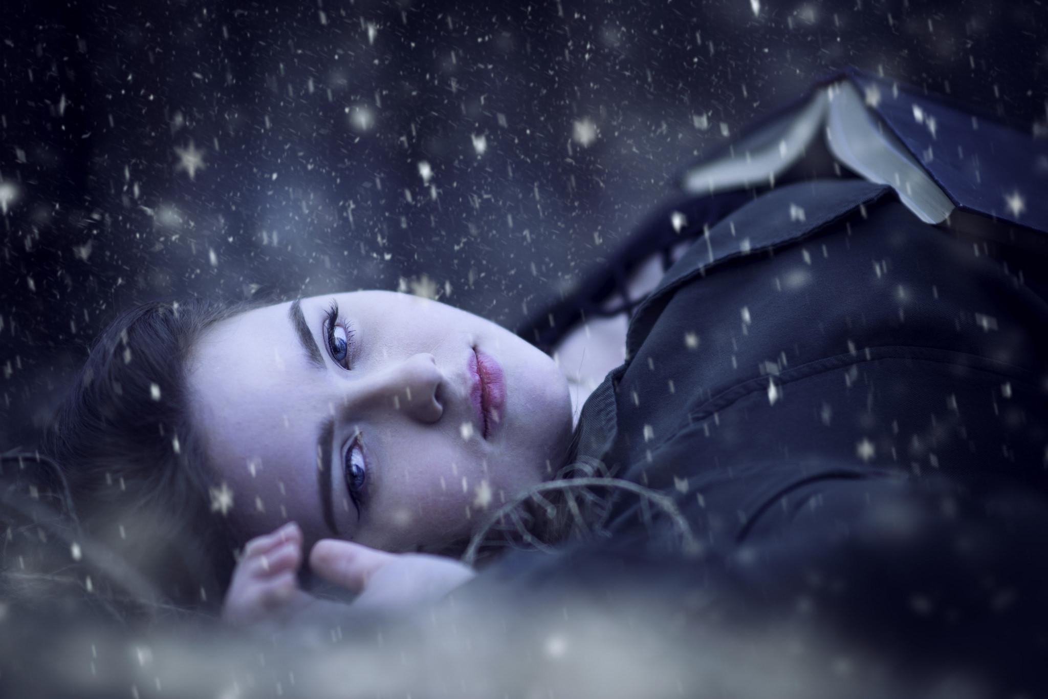 Retrato bajo la nieve - 2048x1365