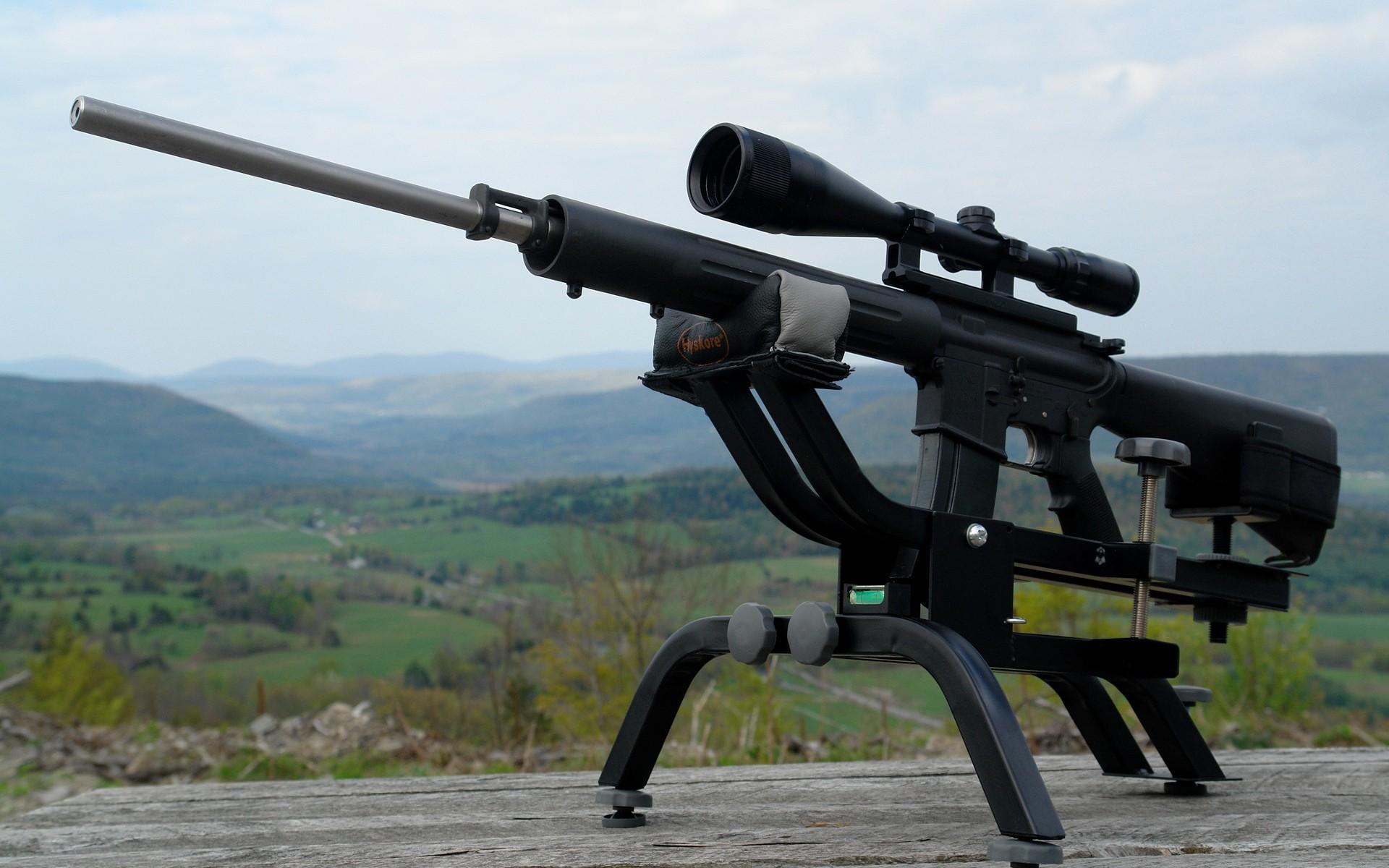 Rifle AR 15 - 1920x1200