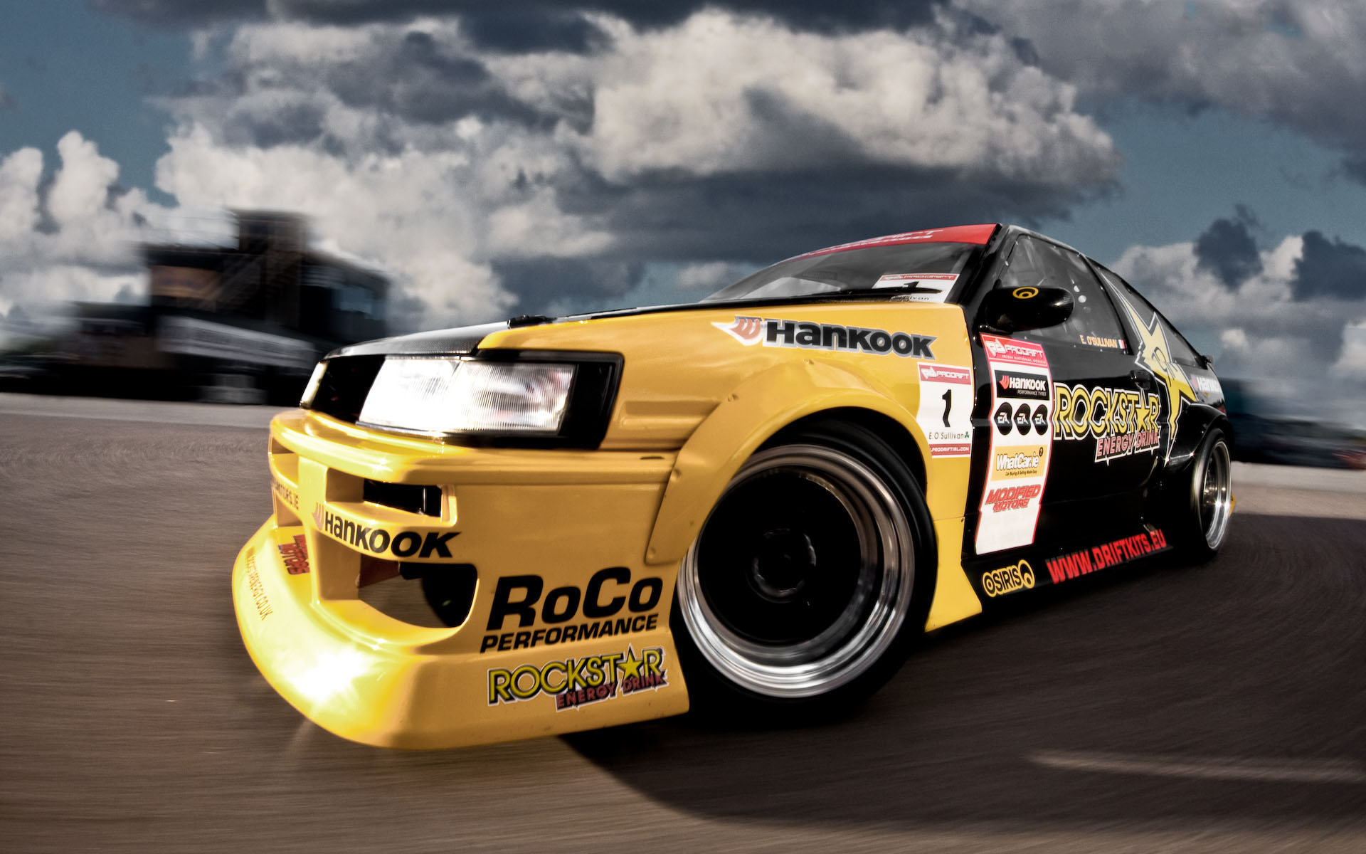 Rockstar AE86 tuning - 1920x1200