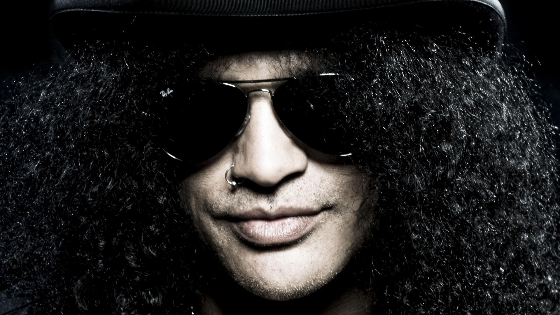 Rostro de Slash - 1920x1080