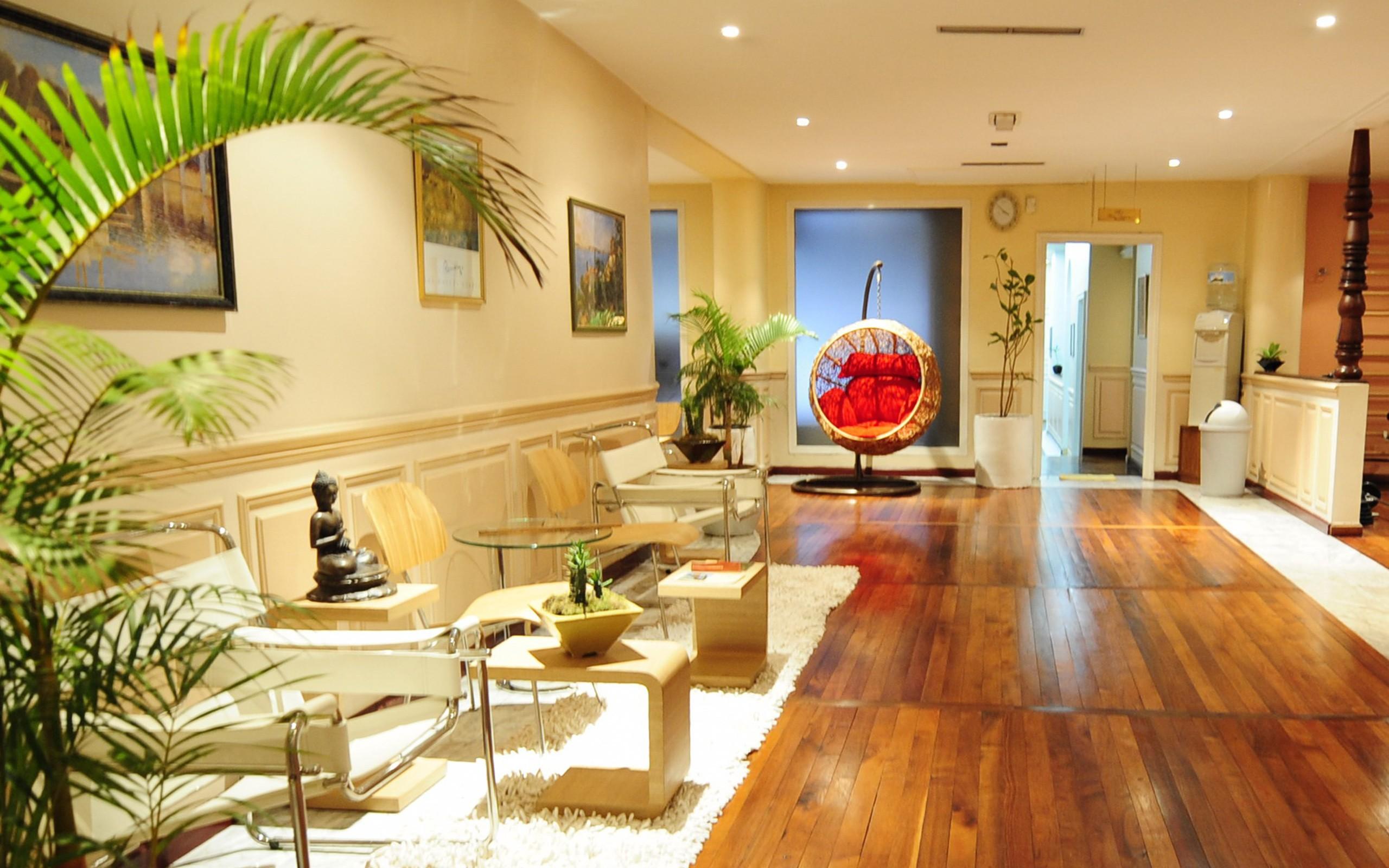 Sala es espera de hotel - 2560x1600
