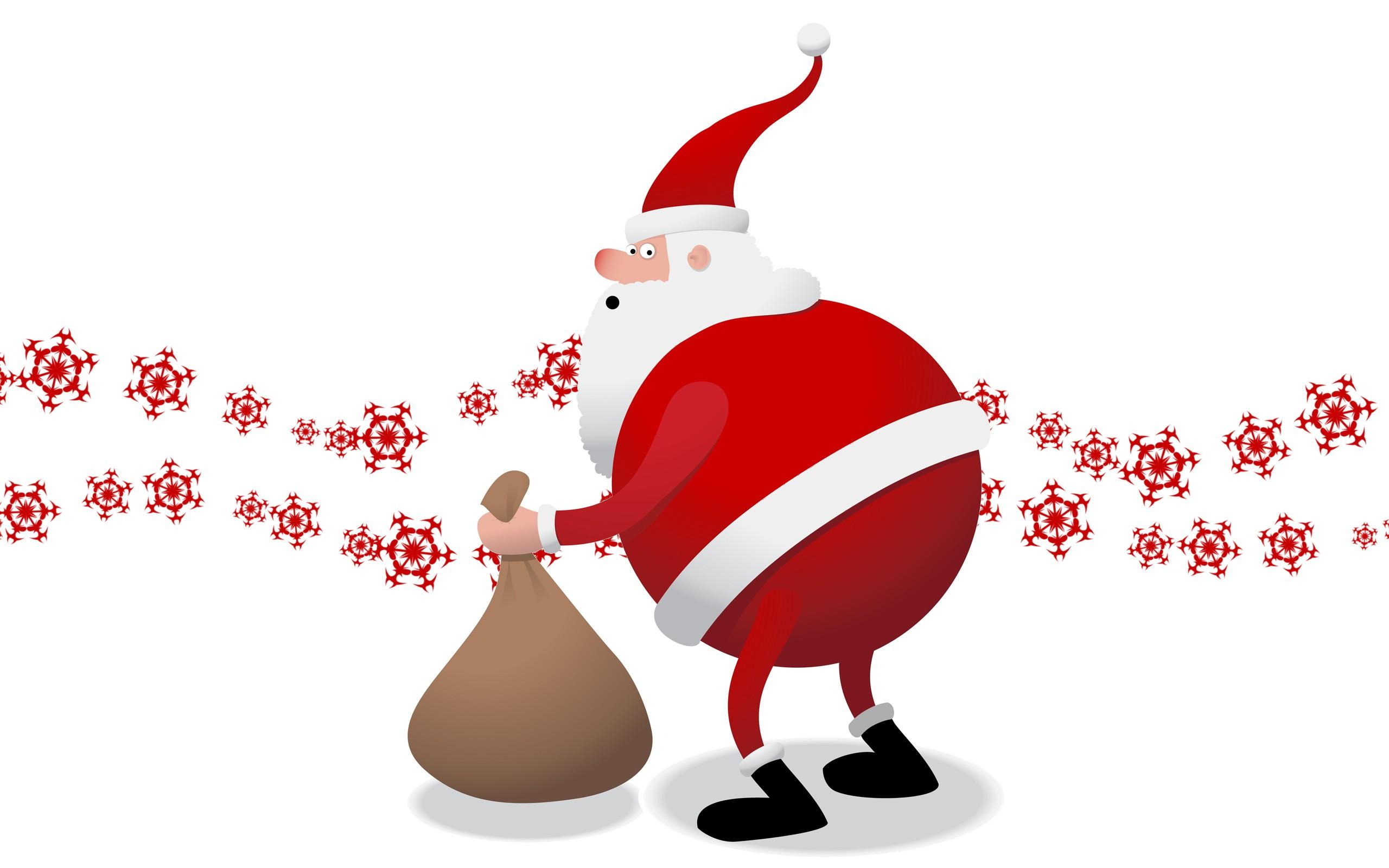 Santa Claus el gordo - 2560x1600