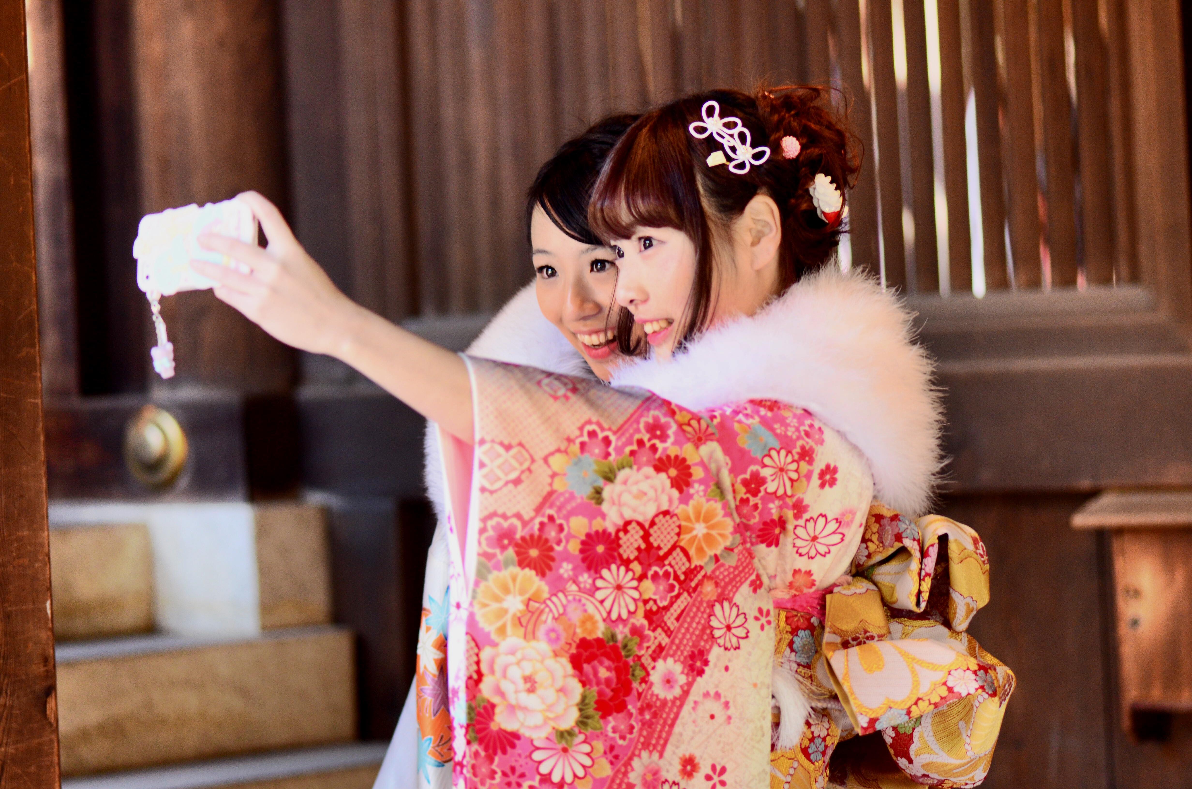 Selfie de chicas japonesas - 4928x3264