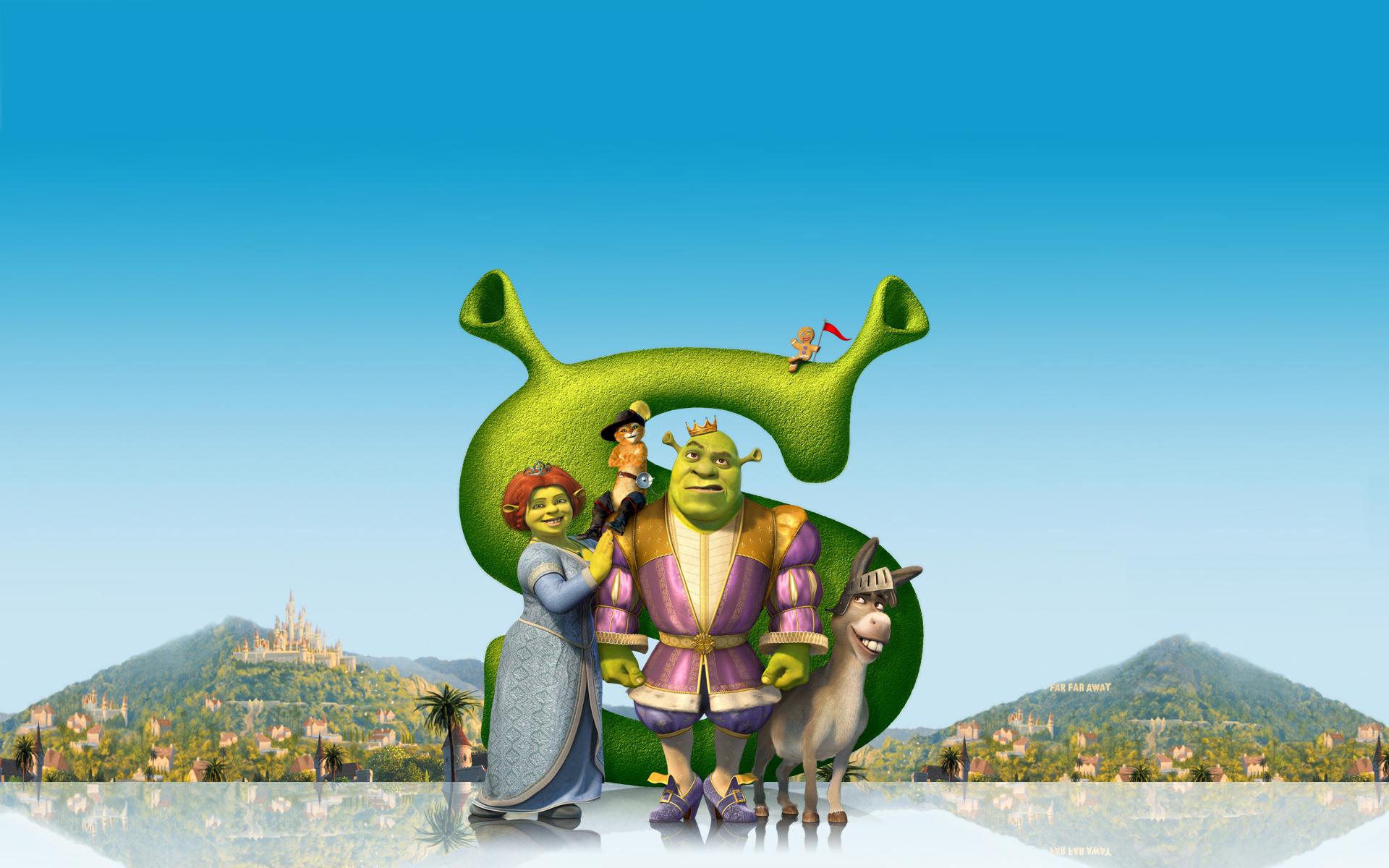 Shrek, la película - 1920x1200