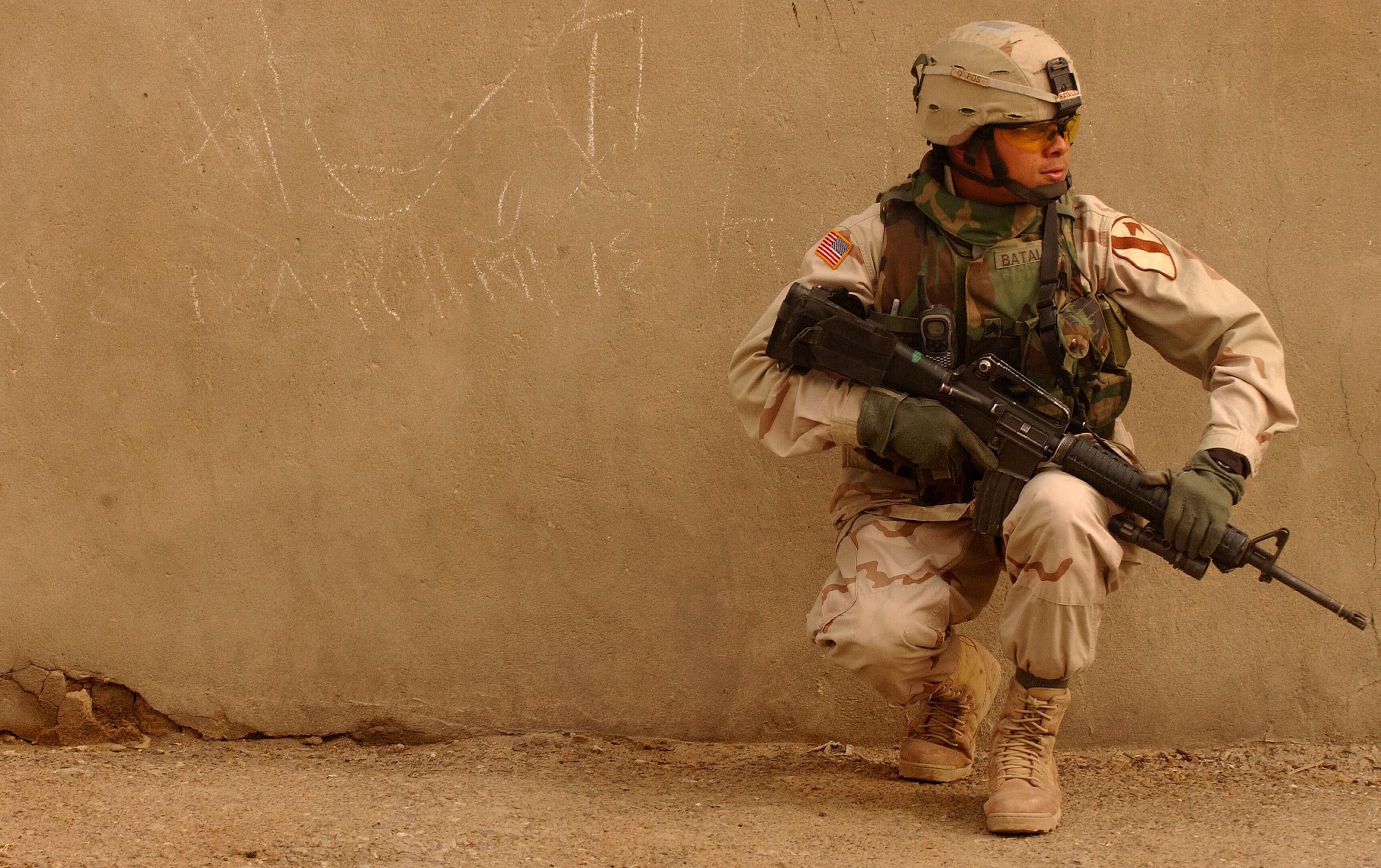 Soldado Americano - 2854x1794