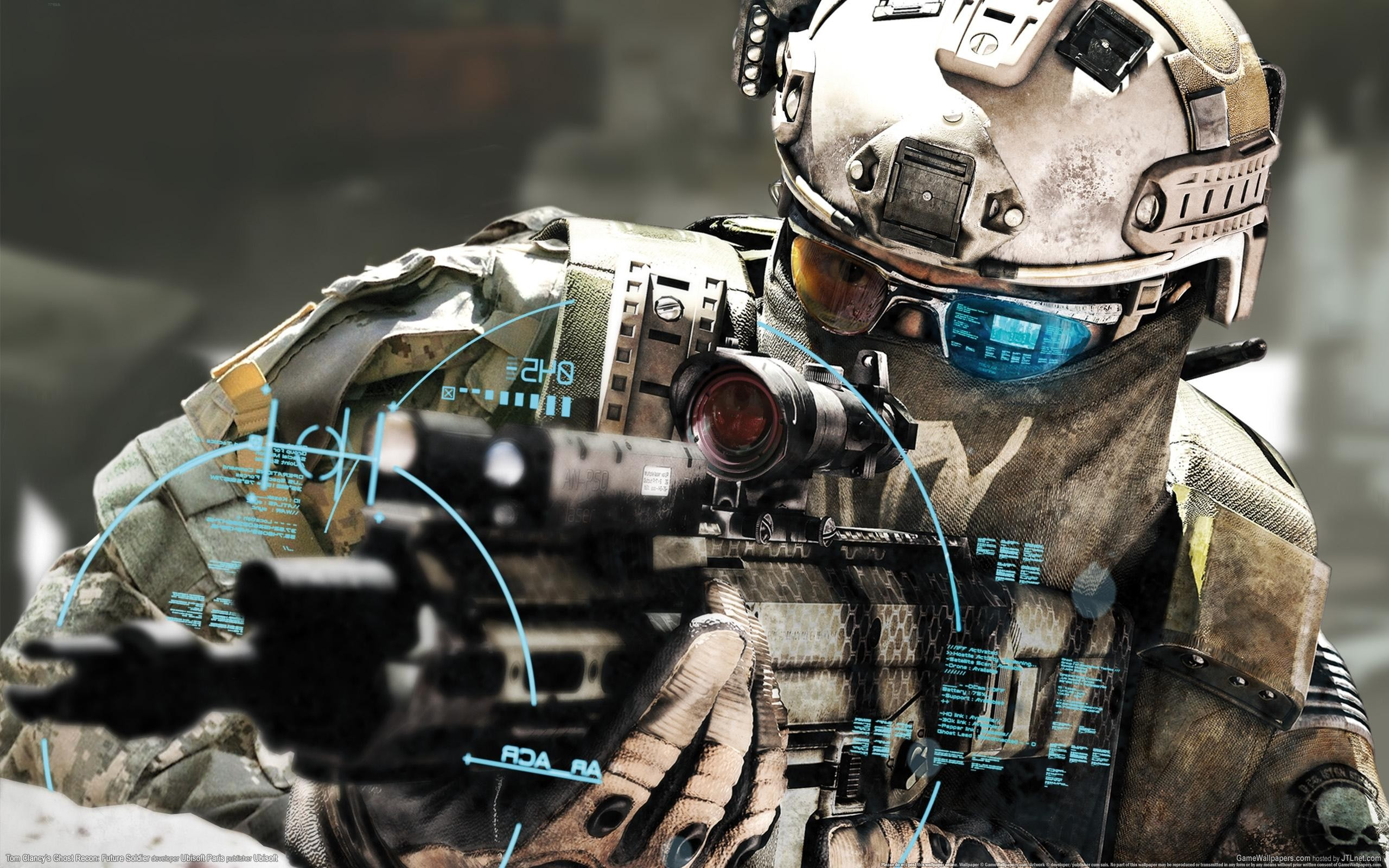 Soldados de videojuegos - 2560x1600