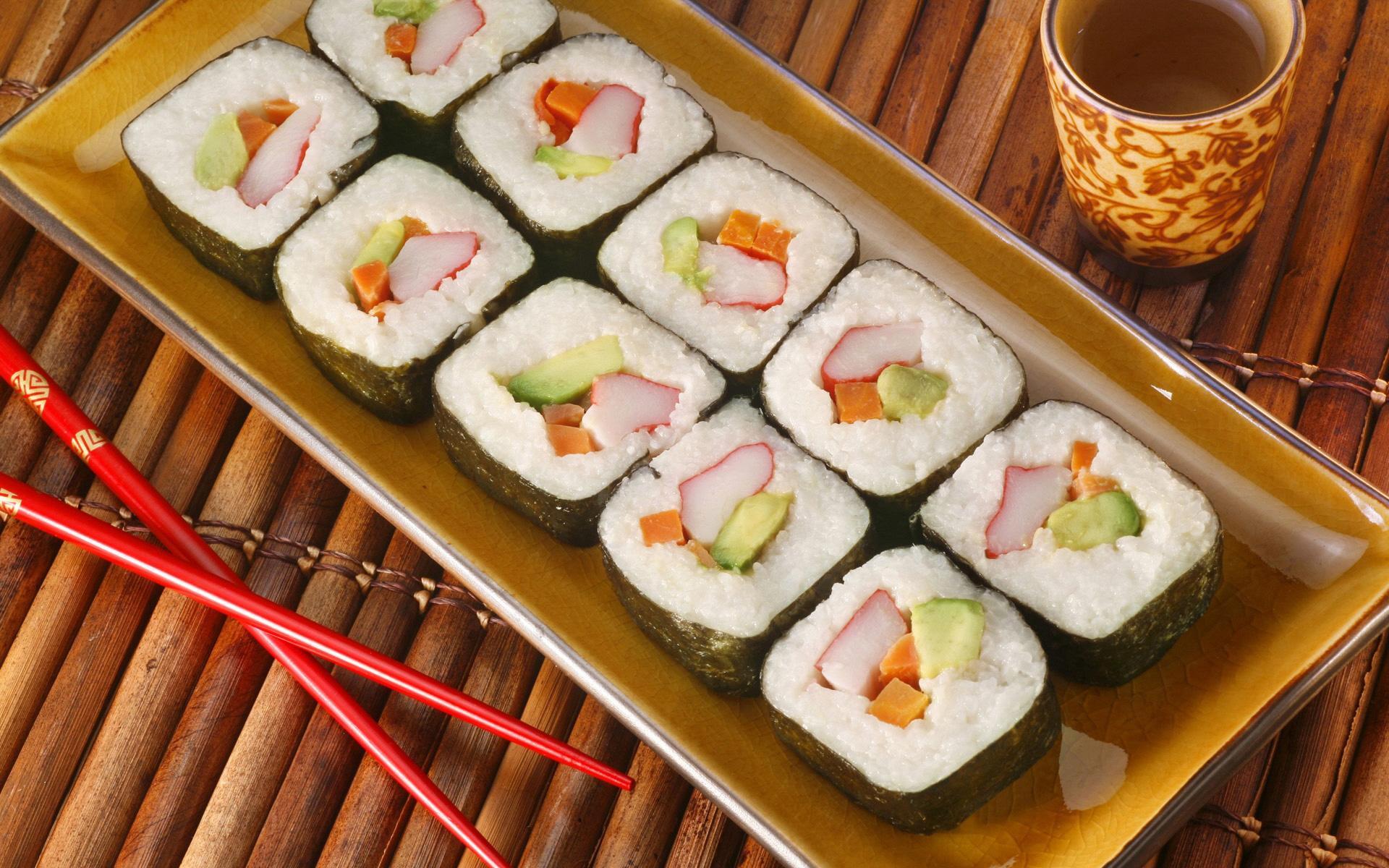 Sushi japonés - 1920x1200