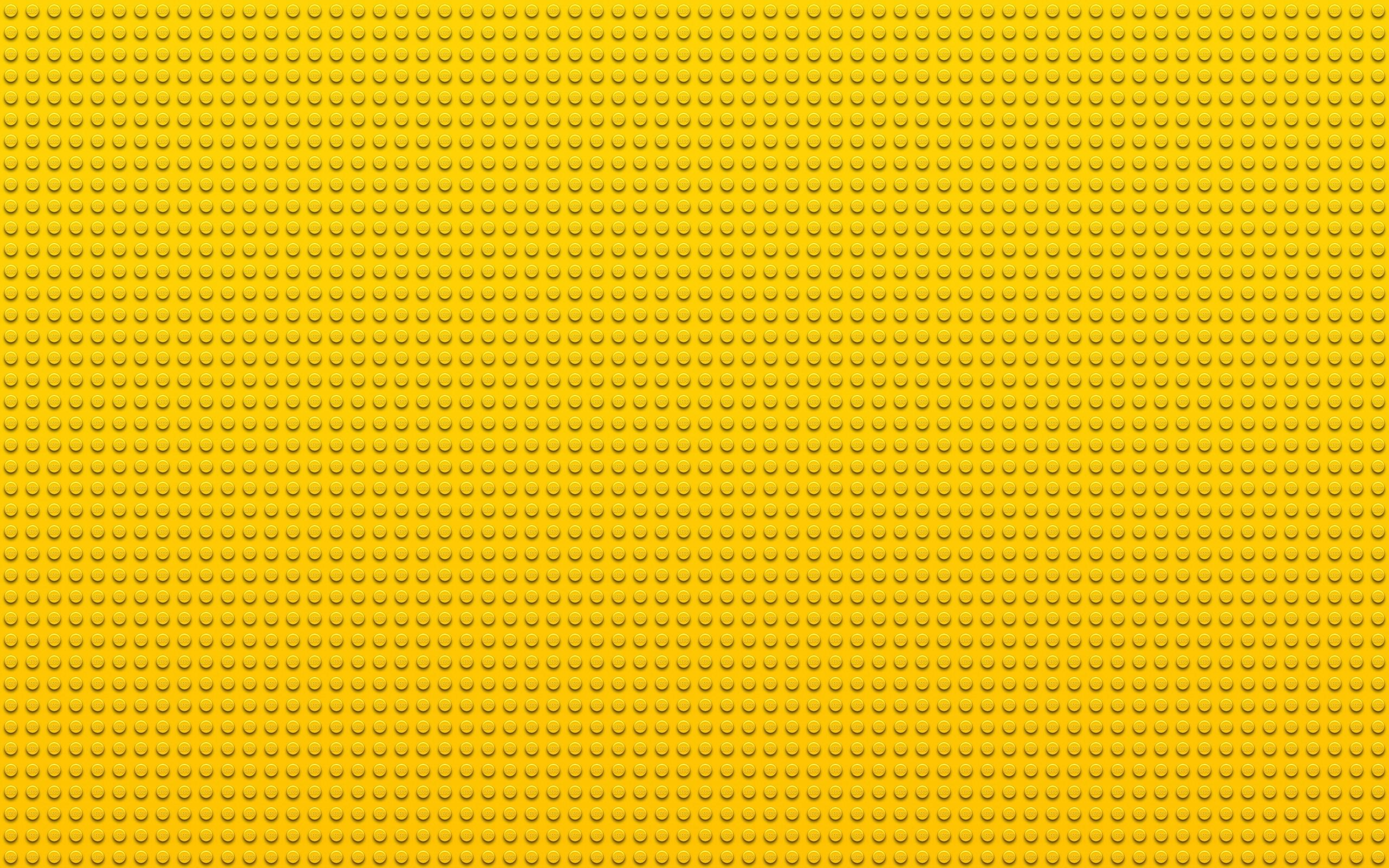 Textura amarilla y puntos - 2560x1600