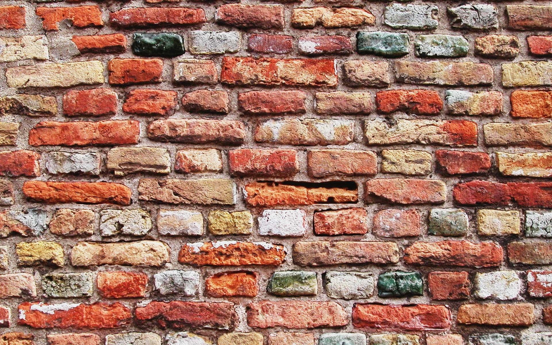 Textura de pared de ladrillos - 1920x1200
