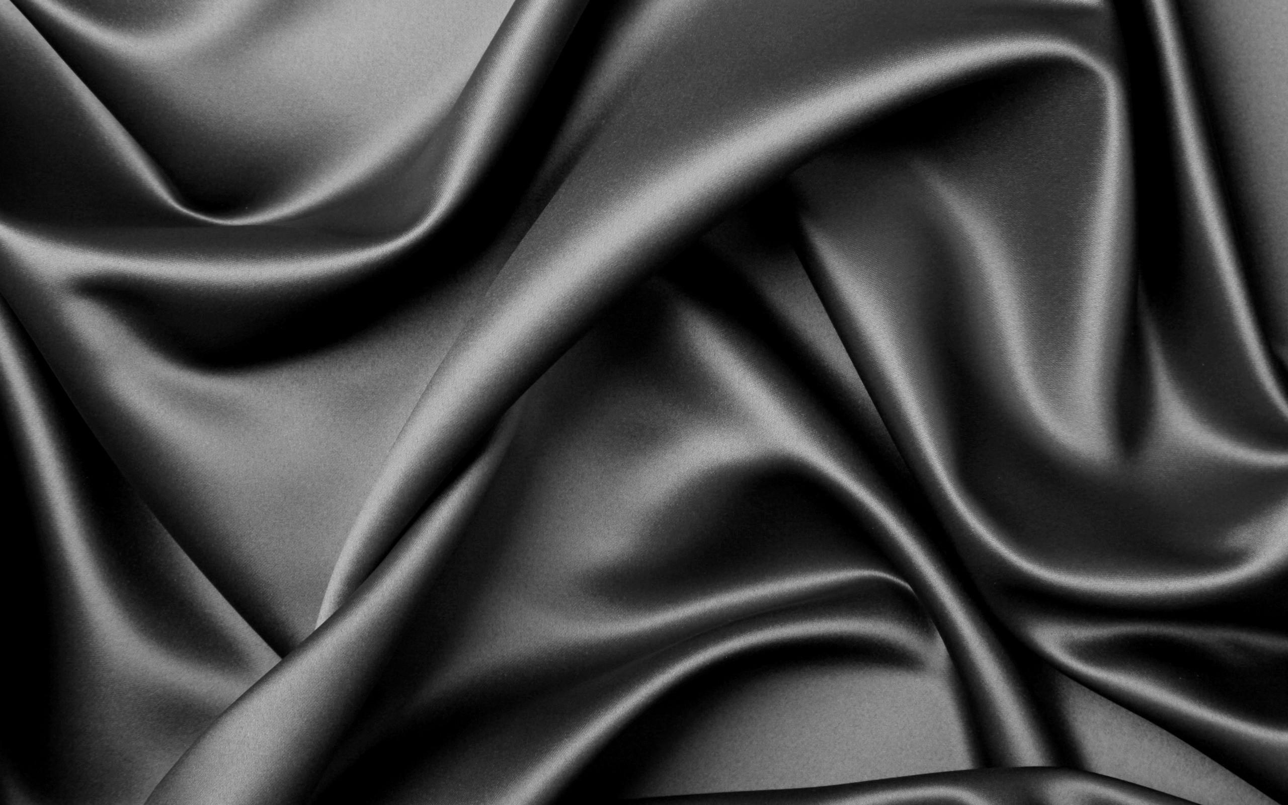 Textura de tela negra - 2560x1600