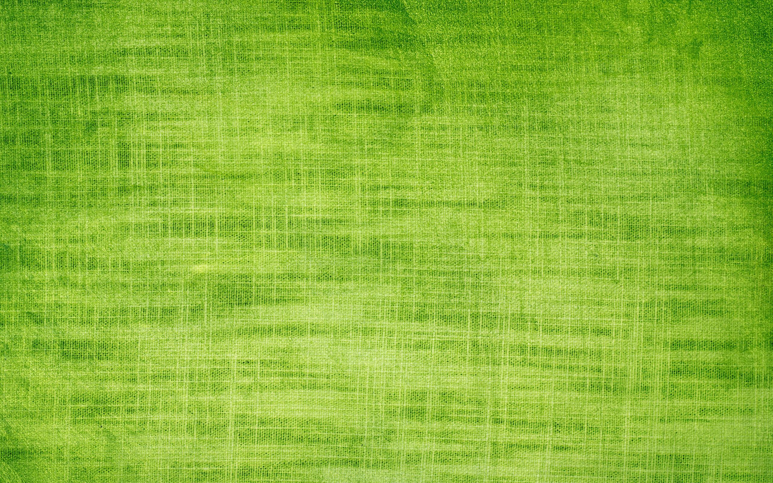 Textura de tela verde - 2560x1600