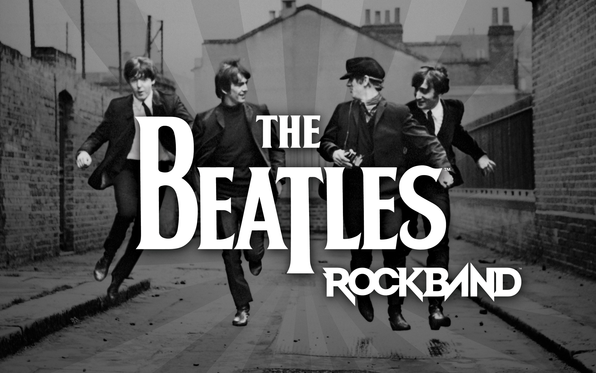 The Beatles Rock Band - 1920x1200