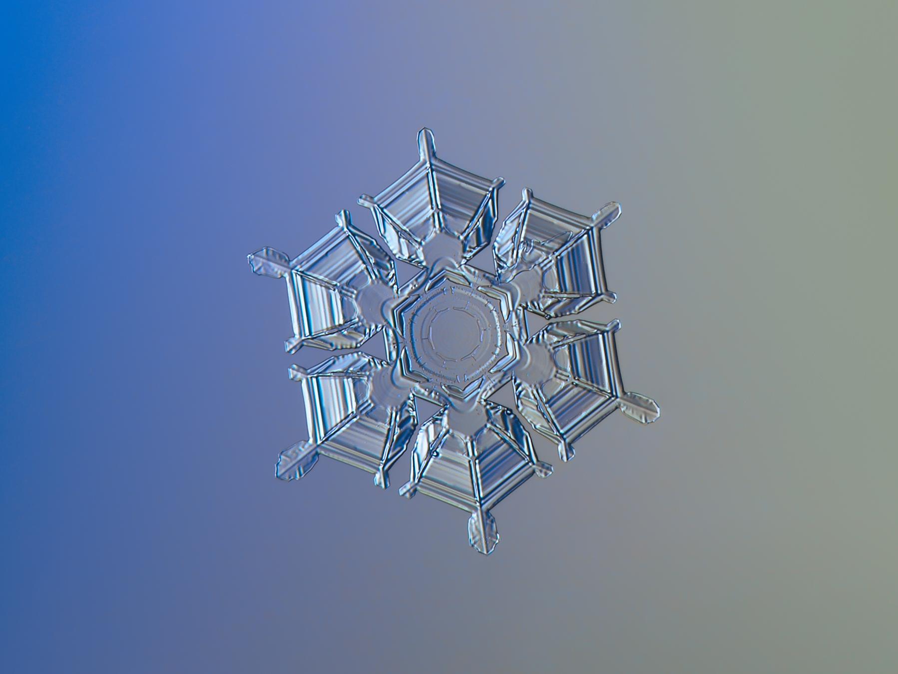 Un grano de nieve - 1798x1349