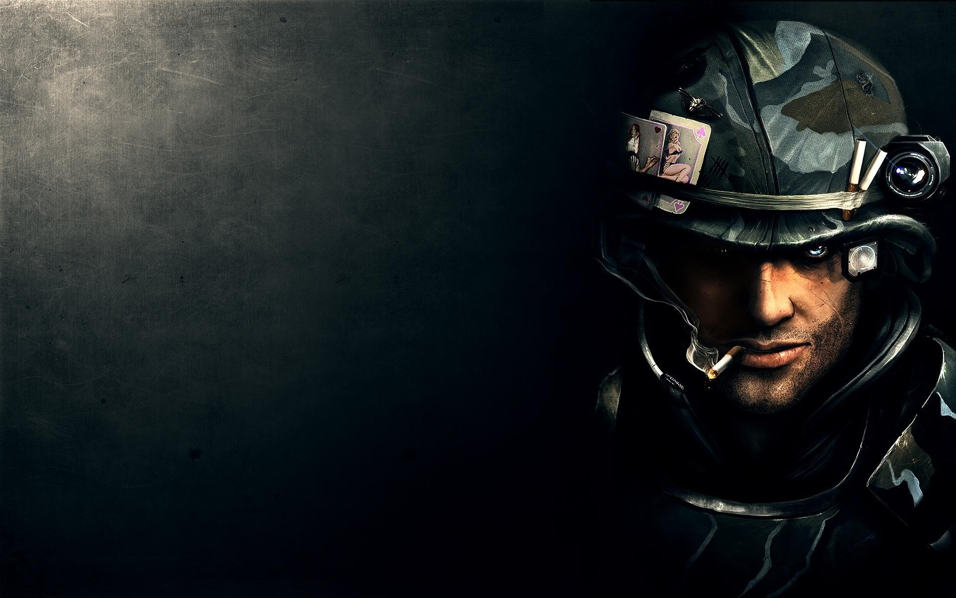 Un soldado de videojuegos - 1920x1200