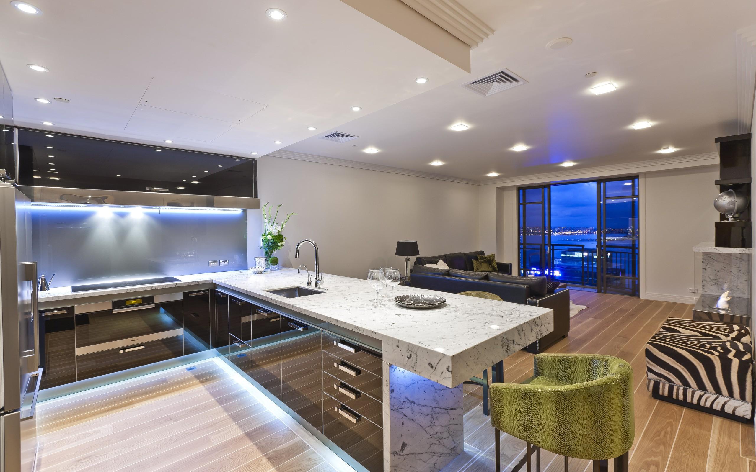 Una cocina en mármol hd 2560x1600 - imagenes - wallpapers gratis ...