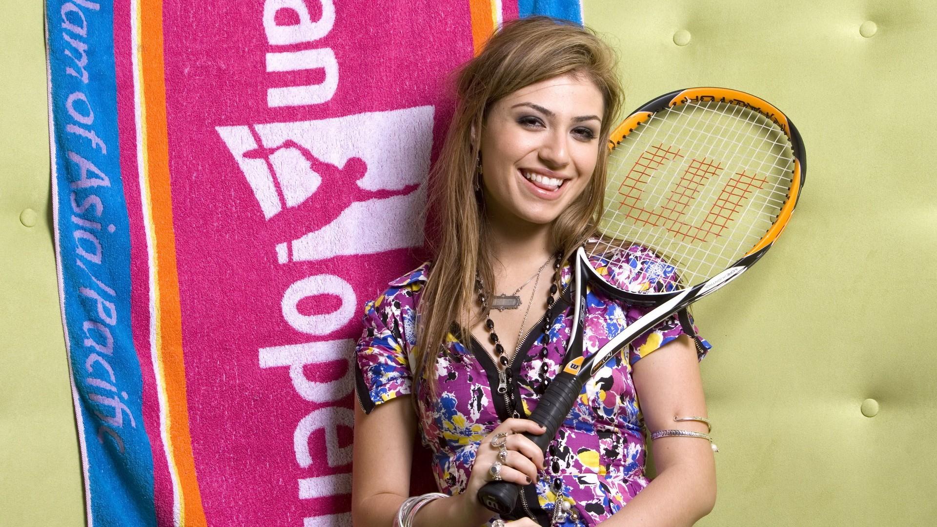 Una linda tenista - 1920x1080